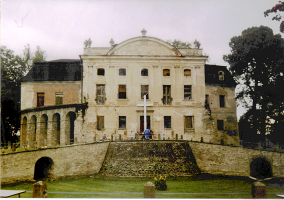 The palace from the front
